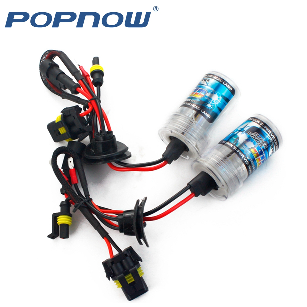 2pc H1 H3 H7 H11 9005 9006 <font><b>D2S</b></font> 12V 35W HID Xenon bulb Auto Car Headlight Replacement lamp 4300K 5000K 6000K 8000K 10000K 12000K image