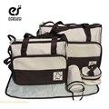 ECOSUSI 5 PCS/Set Multifunctional Diaper Bag Nappy Bag Product For Baby Bag Mummy Tote Maternity Shoulder Bolsa Termica