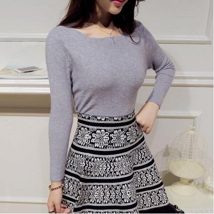 Otoño prendas de vestir exteriores de la mujer otoño camisa básica del diseño corto femenino del otoño y el invierno recién llegado de manga larga