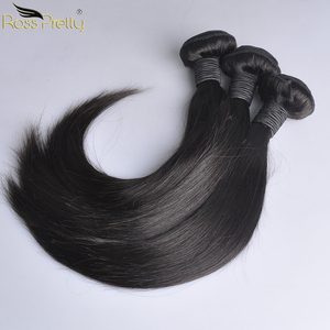Image 5 - 페루 헤어 번들 클로저 pre prelucked straight hair 레이스 클로저 (번들 포함) human hair extension non remy