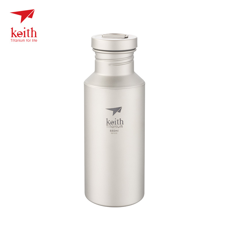 Keith 2017 New Bottle For Bicycle 550ml Sports Water Bottles mtb Portable Outdoor Camping Cycling Hiking Picnic Sport Ti3031 campleader new outdoor camping car durable pc water bucket hiking fishing picnic handy collapsible water bottle container