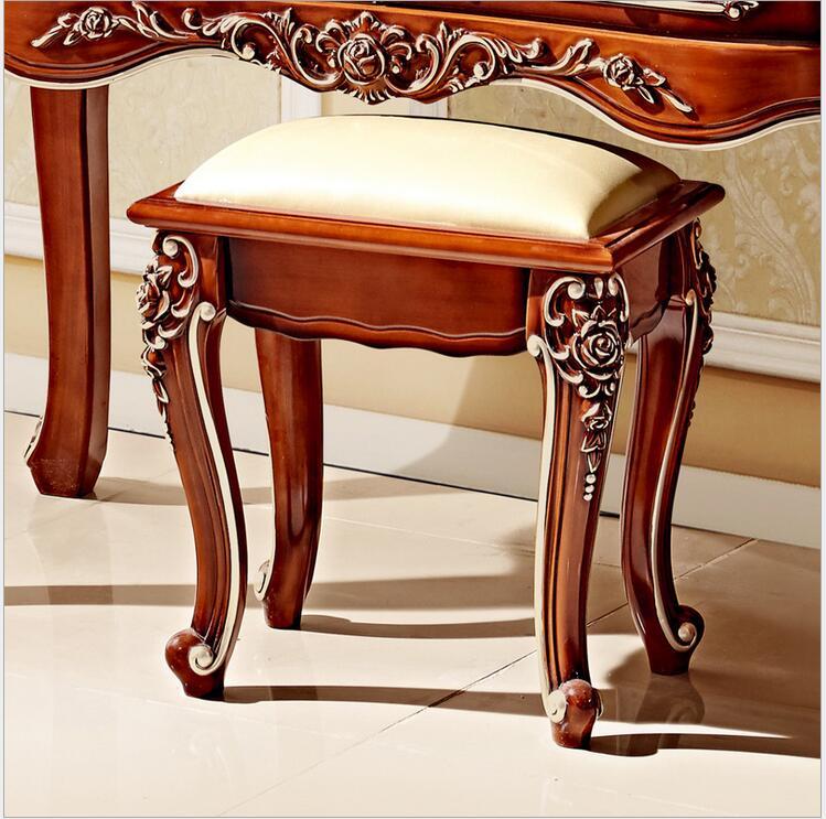 Европейский зеркальный стол антикварный комод для спальни французская мебель французский туалетный столик pfy800