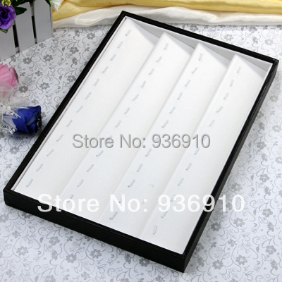 2015 Sale Jewellery Box Boxes Makeup Organizer Free Shipping Wholesale 1pc White Necklace Pendant Display Case,jewelry Displays