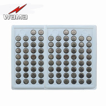 100pcs/2pack Buffle New CR1220 3V Lithium Button Cell Batteries Watch Coin Battery Car Remote Control ECR1220 LM1220
