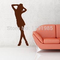 Man's Love Home Sexy Girl Club Sticker Decal Posters Vinyl Wall Decals Removable Room