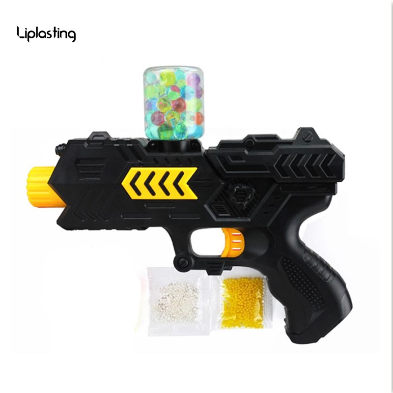 High quality 1Set Water Crystal Gun 2-in-1 Paintball Soft Bullet Kids Toy CS Game Children Gift