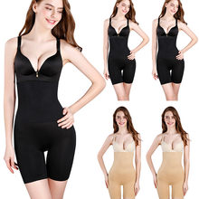 Lady Afslanken Burn Vet Slips Shapewear Tummy Slim Bodysuit Full Body Shaper Afslanken Ondergoed Vest Bodysuits Jumpsuit M-XXXXL(China)
