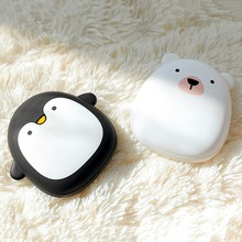 Cute Hand Warmer Pocket Rechargeable Portable Mini 5V USB Winter Powered Bank Double Heating Electric