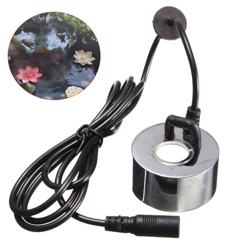 With EU Plug Or No Plug Humidifier Ultrasonic Mist Maker Industrial Incubator 24V Nebulizer Atomizer Head Fogger 45Mm