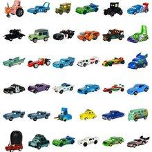 Disney pixar carro 3 27 estilos relâmpago mcqueen mater jackson tempestade ramirez 1:55 morre molde liga de metal modelo novo brinquedo carro presente