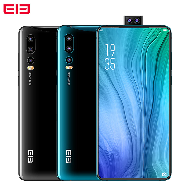 Elephone U2 Mobile Phone 6.26 inch FHD+ Screen 4GB RAM 64GB ROM MT6771T Octa Core Android 9.0 Face ID 4G LTE Smartphone