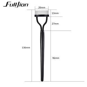 Image 3 - Fulljion Eyelash Comb Lash Separator Lift Curl Metal Brush Mascara Guide Applicator Eyebrow Brush Curler Beauty Eye Makeup Tools