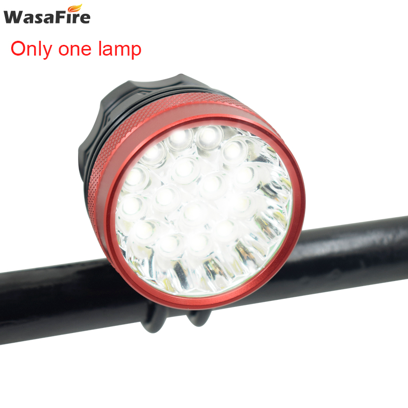 WasaFire 40000 <font><b>lm</b></font> 16 xT6 LED Bicycle <font><b>light</b></font> front Headlight Riding Cycling <font><b>Bike</b></font> Front <font><b>Light</b></font> for Outdoor Night Riding Camping Lamp image
