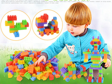 104Pcs/bag Building Blocks City DIY Creative Bricks Toys For Child Educational Building Block Bricks Compatible toy for kids GYH