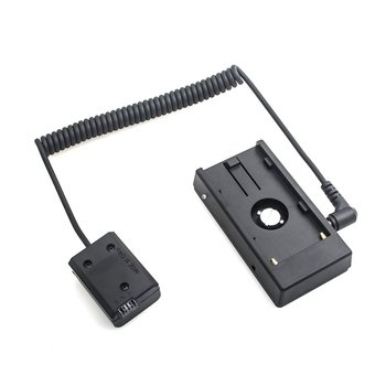 Power Adapter NP-F970 to NP-FW50 Dummy Battery Mount Plate Adapter Spring Cable Power Supply and Accessories for Sony usb power cable plus bp 61 blf19e dummy battery for sigma sd quattro h sdq sdqh