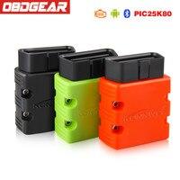 Konnwei KW902 OBD 2 ELM327 V1 5 Pic18f25k80 OBD2 Bluetooth Adapter OBD2 Scanner ELM 327 Diagnostic