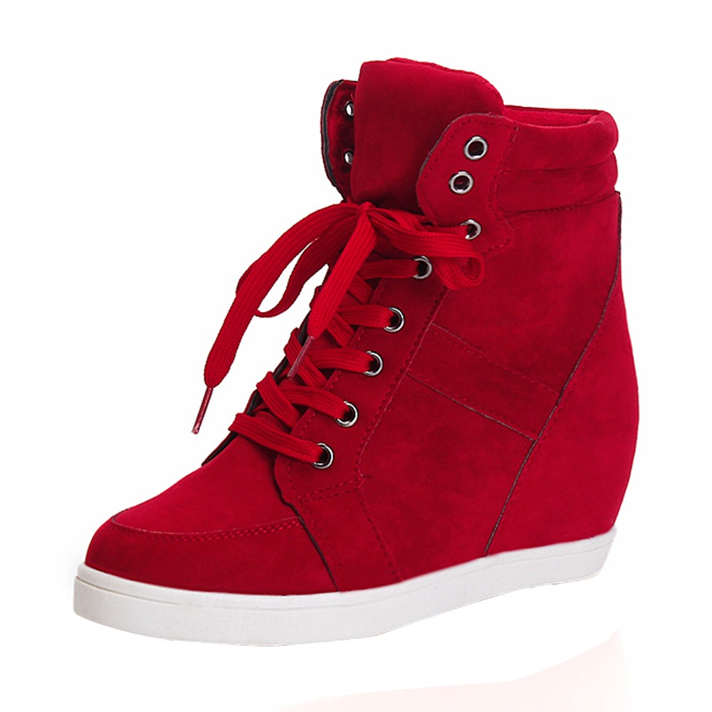 New Autumn Winter Women Boots High Quality Solid Round Toe Lace-up European Ladies shoes PU Leather Fashion BootsNew Autumn Winter Women Boots High Quality Solid Round Toe Lace-up European Ladies shoes PU Leather Fashion Boots