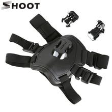 Нагрудный ремень SHOOT Fetch Dog для GoPro Hero 9 8 7 Black Sjcam Sj4000 Xiaomi Yi 4K Eken H9r Go Pro Аксессуары для экшн камеры