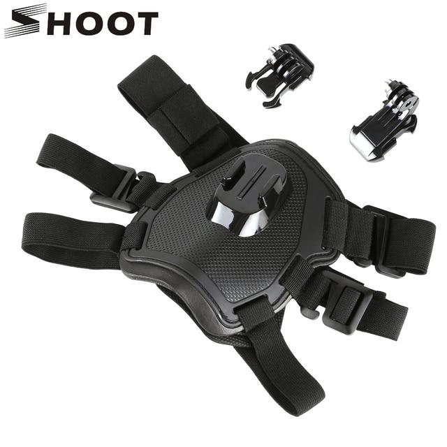 SHOOT Fetch arnés para el pecho para GoPro Hero 9, 8, 7, negro, Sjcam, Sj4000, Xiaomi Yi, 4K, Eken, H9r, Go Pro, accesorio para cámara de acción