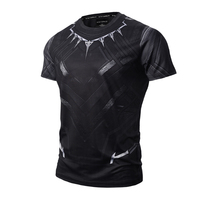 Tights Clothing Compression Shirt Flash 3 D Printed T shirts Men Short Sleeve Costume Quick Dry Fitness Tops Male