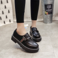 Fashion 2017 Spring Womens Oxfords Shoes Slip On Faux Leather Oxfords for Women Casual Comfort Ladies Shoes BYL&17068