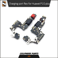 5pcs/lot For Huawei P10 Plus Micro USB Charger Dock Connector Charging Port Flex Cable Board Jack Ribbon Repair