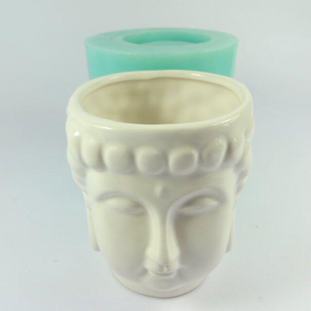Szilikagél szilikon öntőforma 3d váza öntőformák cement - Konyha, étkező és bár - Fénykép 3