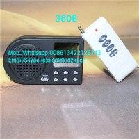 10 w speaker 12 V pássaro chamador caça MP3 chamariz som cidade speaker