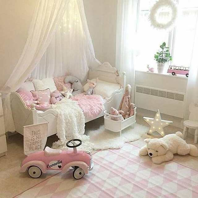 Baby Bed Canopy Kids Crib Netting Nordic Style Children Room Curtain Dome Mosquito Net Cotton Baby & Baby Bed Canopy Kids Crib Netting Nordic Style Children Room ...