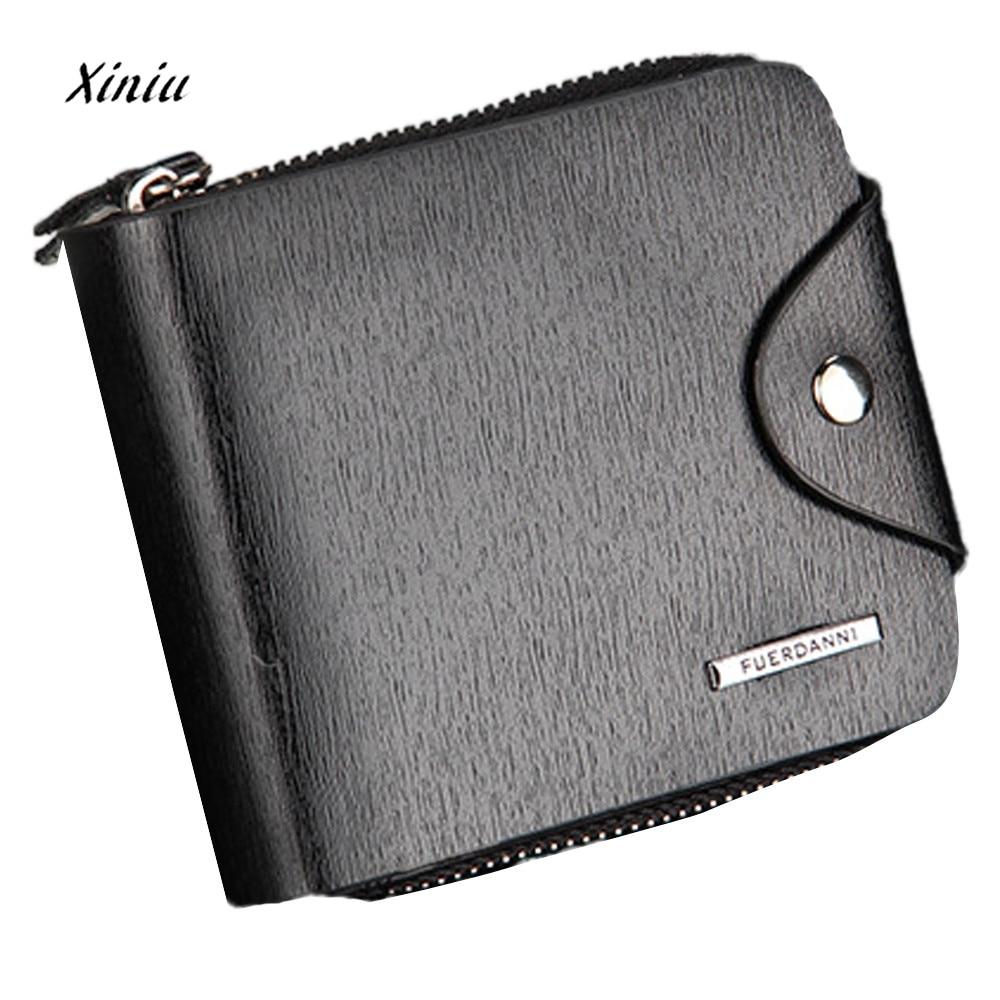 Men Bifold Business Leather Wallet  ID Credit Card Holder Purse Designers Male Clutch Passcard Money Pocket Large Capacity битоков арт блок z 551