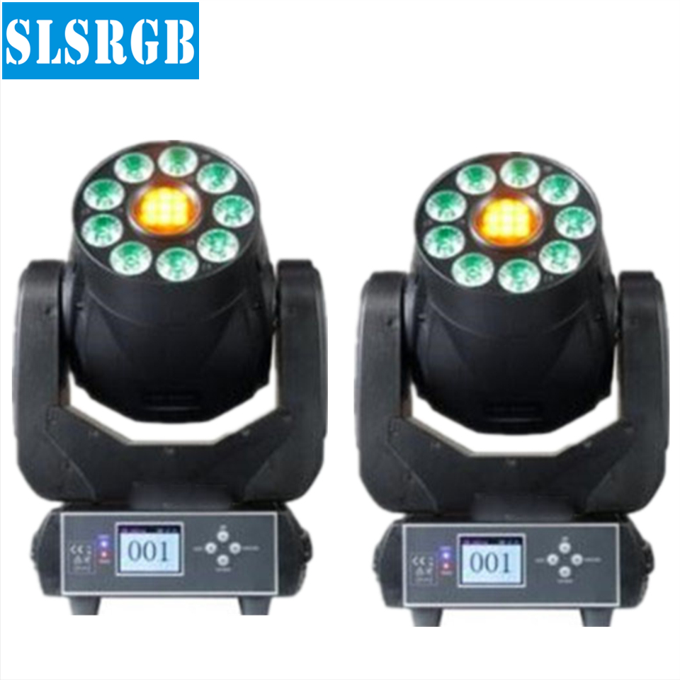 2pcs/lot 2017 NEW 2in1 Stage Light 75W Spot 9pcs 6in1 RGBWA+UV Wash LED Moving Head for Party 9pcs 6in1 wash leds with 75w spot 2pcs/lot 2017 NEW 2in1 Stage Light 75W Spot 9pcs 6in1 RGBWA+UV Wash LED Moving Head for Party 9pcs 6in1 wash leds with 75w spot
