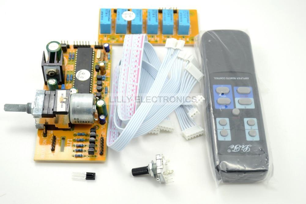 MV04 ALPS Quadruple Motorized Remote Control Input Potentiometer 9 12V AC