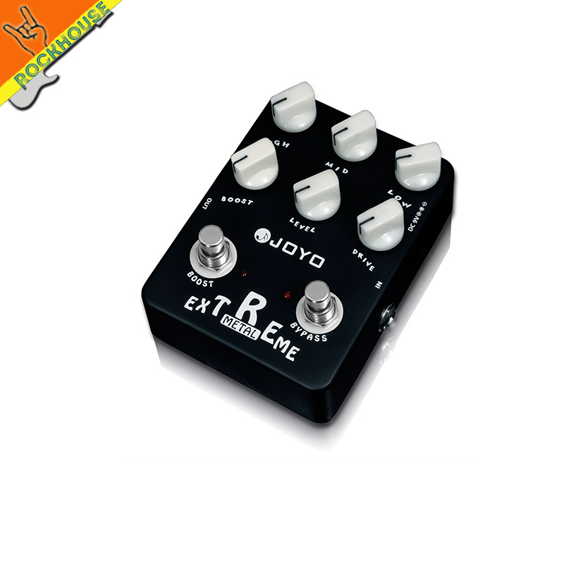 JOYO Extreme Metal Distortion Guitar Effects Pedal high-gain Heavy Metal Guitar Pedal Stompbox 3 Bands EQ True Bypass nux hg6 distortion guitar effect pedal modern high gain effects true bypass 3 gain stages