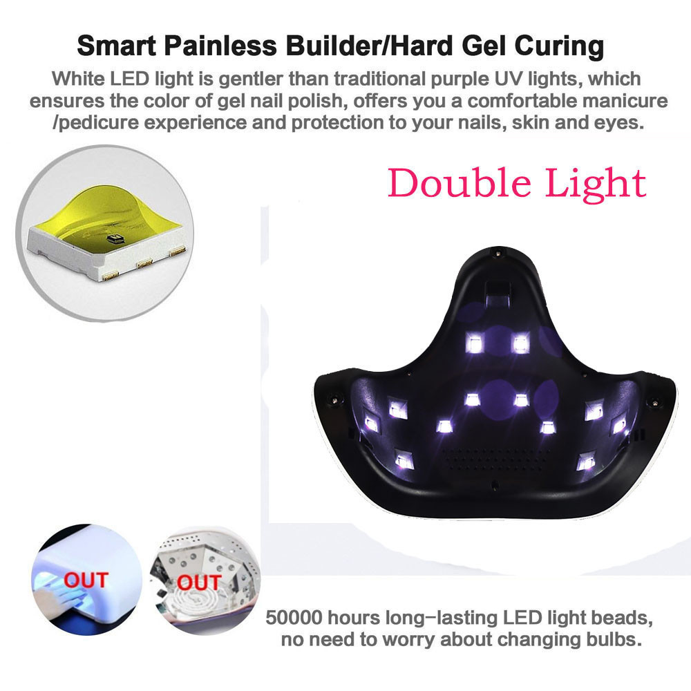 Nail Tools Beauty & Health Dazzling Girl Store 2018 New Arrivals Best Price 24w Led Uv Nail Gel Curing Lamp Light Nail Gel Polish Dryer Nail Art Machine