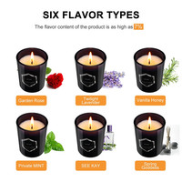 Household daily necessities Scented Candles Gift Set Natural Soy Wax Smokeless Aromatherapy Candles Kit 6Pcs Home Decoration