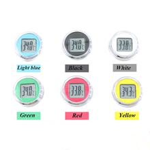 Promo offer Colorful Universal Motorcycle Waterproof Thermometer Motorbike Moto Outdoor Digital Thermometer Suit ATV All Moto