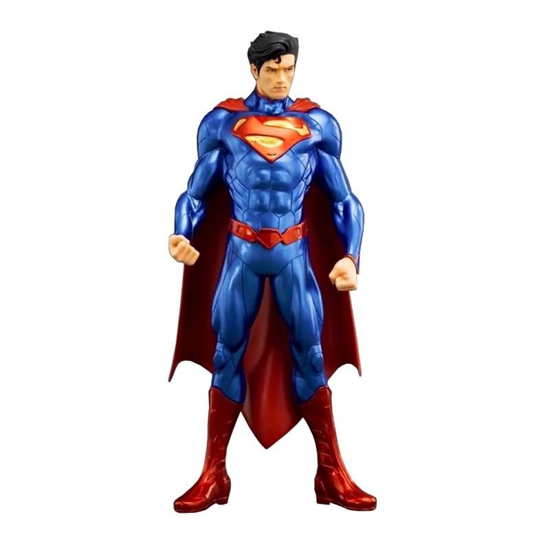 ФОТО Wolves World 1pcs/set Action Figure US Superman DC Super Hero PVC 18cm Phantom Chariot Model Anime Figures Action Model 001