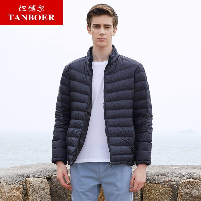 Edler Schmuck Liberal Tanboer Männer Unten Jacken Neue Ankunft Ultra Licht Unten Mantel Warme Winter Jacke Wasserdicht Atmungsaktiv Outwear Ta18327