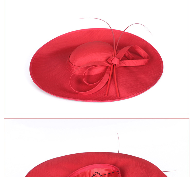 8_bow hat for woman