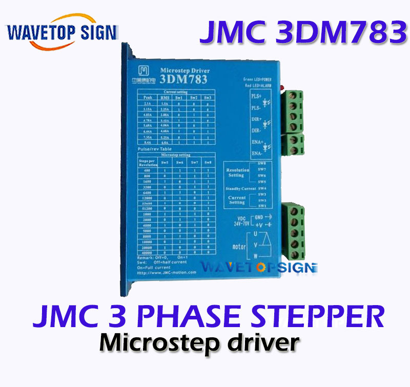 JMC three phase stepper motor driver 3DM783  instead old version JMC 3M660 yka3722ma ykb3722ma upgrade ykc3722ma yako research and control three phase driver 3d722