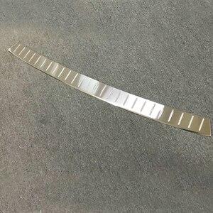 Image 5 - غطاء واقي المصد الخلفي الداخلي أو الخارجي من الفولاذ المقاوم للصدأ لملحقات فولكسفاغن ترانسفير (T6) كارافيل 2017 2018 قطعة واحدة