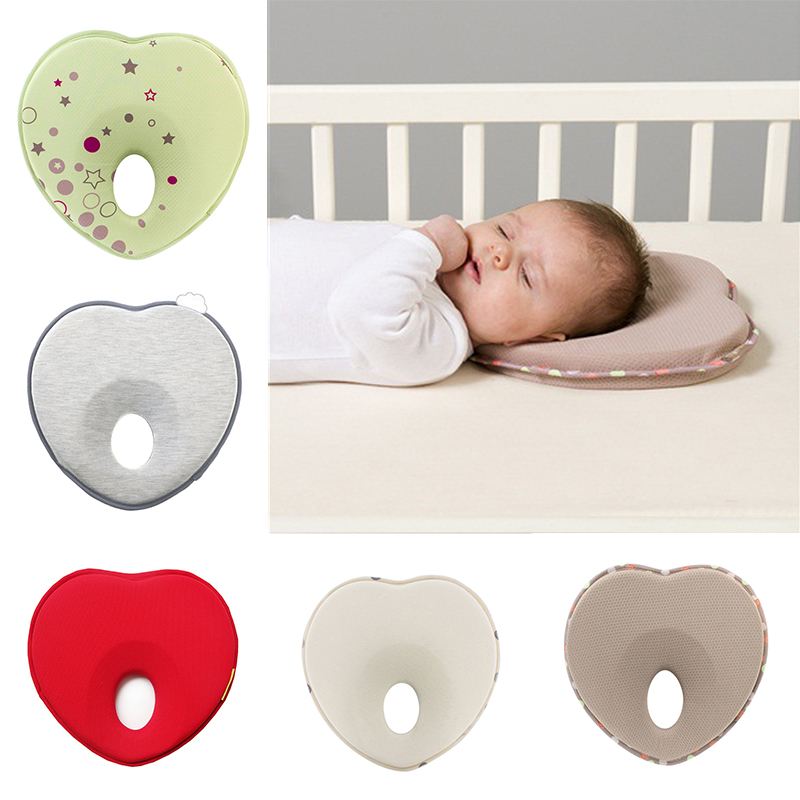 2019 Hot Baby Pillow Infant Toddler Sleep Positioner Anti Roll Cushion Flat Head Pillow Protection Of Newborn Almohadas