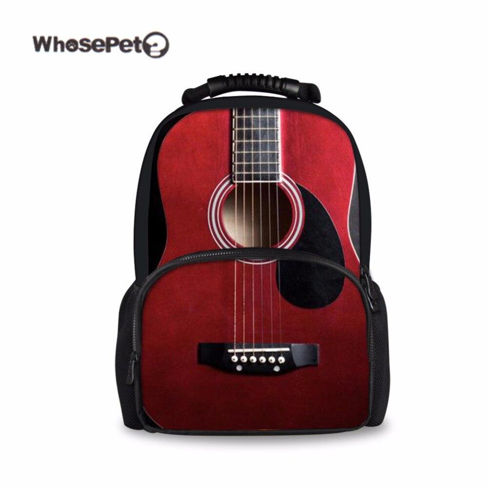 Модные рюкзаки для девочек через плечо в форме гитары бары чемоданы