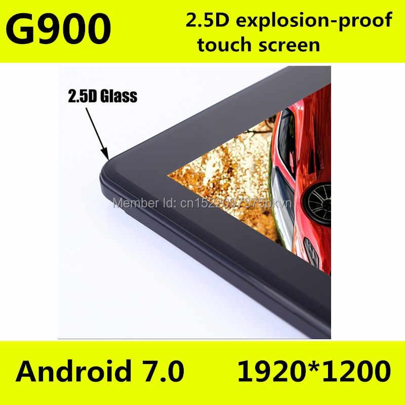 10.1 بوصة ثماني قاعدة البيانات الأساسية للكمبيوتر اللوحي G900 2.5D شاشة أندرويد 8.0 الجيل الثالث 3G 4G LTE المزدوج سيم 1920*1200 IPS 4GB 128GB واي فاي بلوتوث أقراص