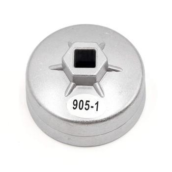 Uxcell samochodu srebrny Tone 74mm średnica wewnętrzna 14 flet FILTR OLEJU klucz narzędzie do usuwania tanie i dobre opinie Oil Filter Wrench Material Aluminum Alloy 1 x Oil Filter Wrench Shell Color Silver Tone 8 x 5cm 3 1 13mm 1 2 80mm 3 1