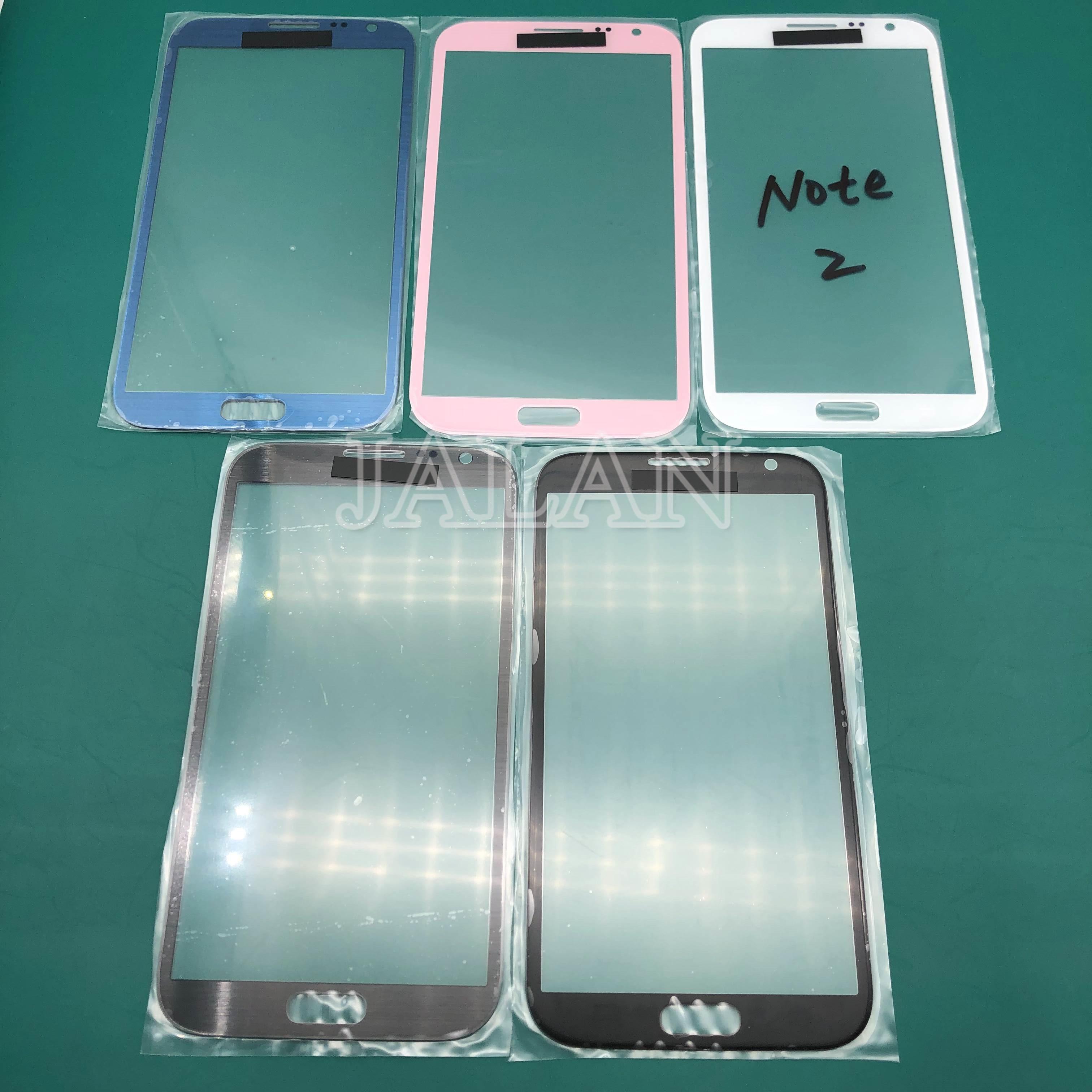 Jalan untuk SM Note 1 2 3 N700 N710 N750 N900 Note 3 NEO Touch Screen Panel Retak Kaca Pengganti perbaikan LCD Kaca Depan