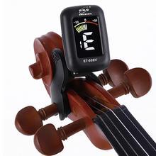 ENO ET05V скрипка тюнер мини электронный экран тюнер дисплея для скрипки Виолончель клип-на тюнер портативный цифровой скрипки запчасти