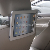 for ipad 2/3/4/air/pro 9.7 car mount on back seat headrest holder with secure lock enclosure taxi vehicle