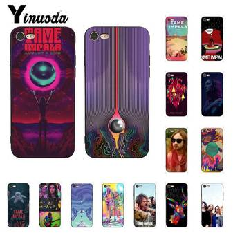 Yinuoda Tame Impala Soft black Phone Case for iPhone 8 7 6 6S Plus 5 5S SE XR X XS MAX 11 11pro 11promax Coque Shell image