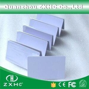 Image 5 - (10 ピース/ロット) FM1108 (互換 S50) 防水 PVC スマート白カード RFID タグ 13.56 Mhz のアクセス制御のための